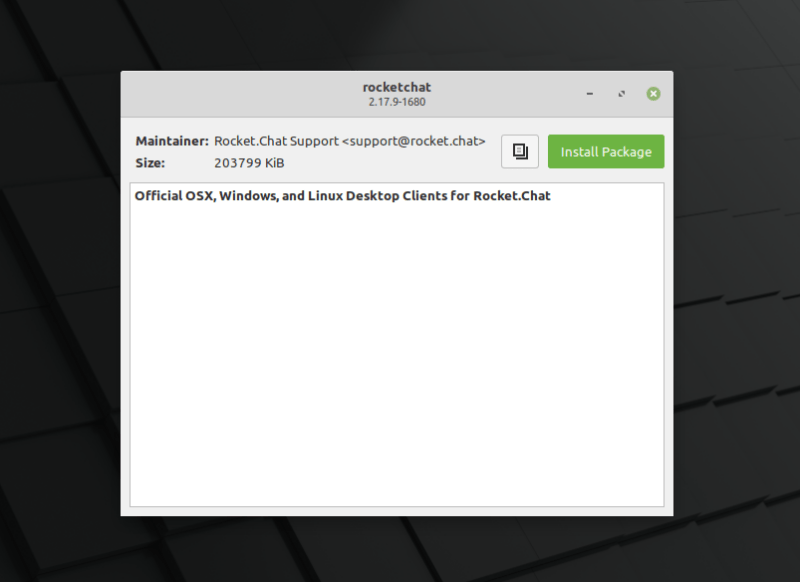 Mint 20 Redesigned Gdebi Installer