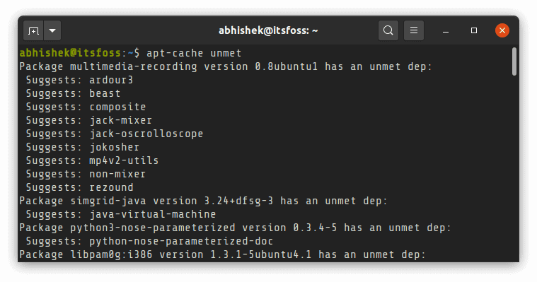 How to Use apt-cache Command in Linux