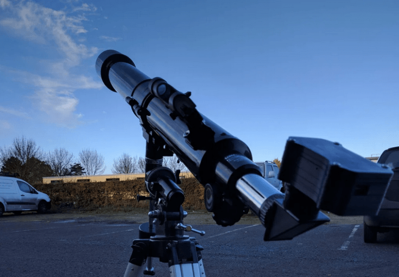 Pi Telescope Camera