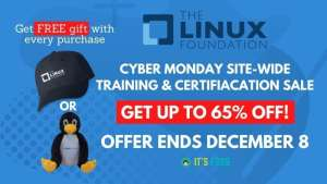 Linux Foundation Cyber Monday Deal