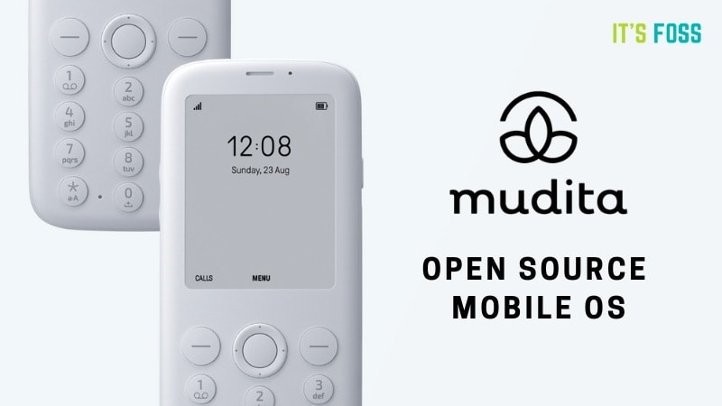 MuditaOS: A Beautiful and Minimal Open Source Mobile Operating System for Feature Phones
