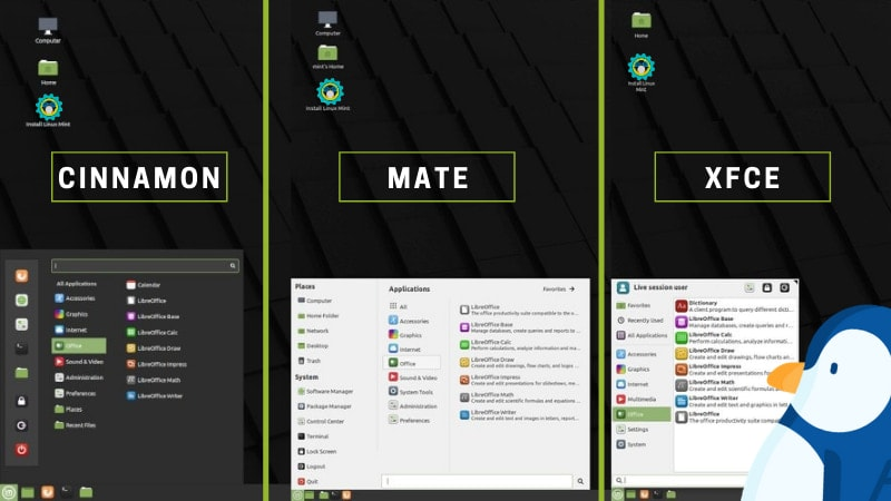 Linux Mint Cinnamon vs MATE vs Xfce: Which One to Use?