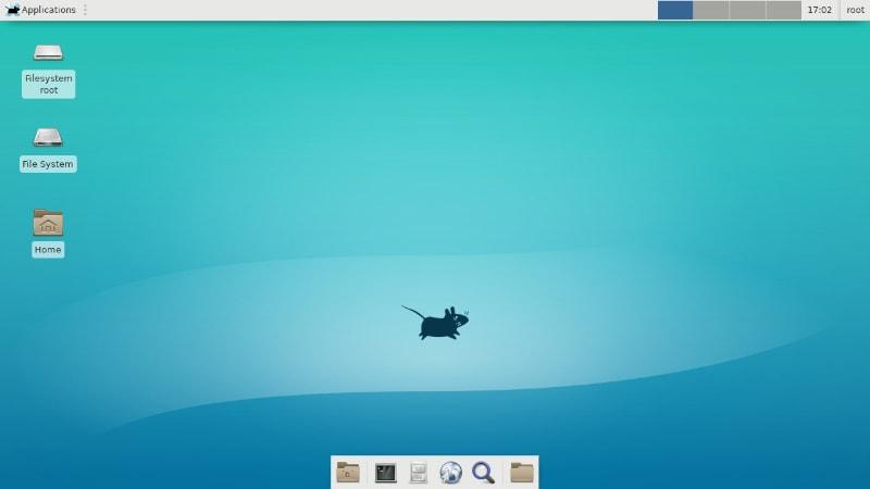 Hyperbola Linux With Xfce desktop