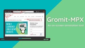 Gromit-MPX Lets You Draw Anywhere On Linux Desktop Screen