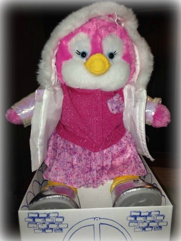 Hood up BAB Penguin