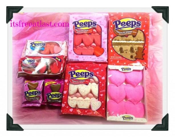 Peeps Valentines Collection