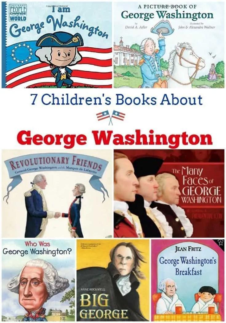 7 Children's Books About George Washington