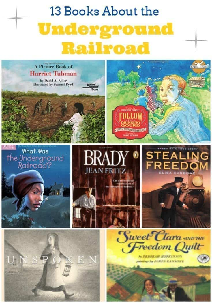 13 Children's Books About the Underground Railroad