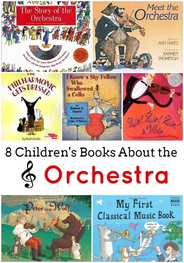 8 Children's Books About the Orchestra