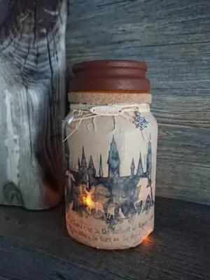 Harry Potter Jar Nightlight