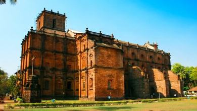 Photo of Goa's jewel, the Basilica de Bom Jesus in Old Goa