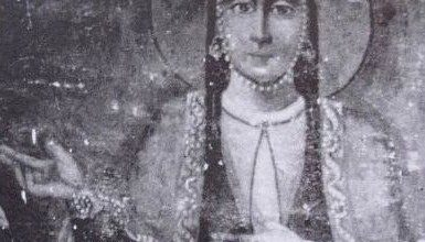 Photo of Georgian Queen Ketevan buried in Goa?
