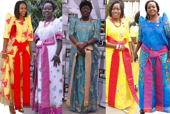 Gomesi Uganda S National Dress Designed By A Goan