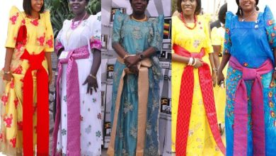 Photo of 'Gomesi' Uganda's national dress designed by a Goan?