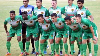 Photo of Salgaocar Football Club lift Goan Champions Trophy