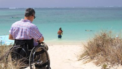 Photo of Wheelchair Holiday Winner Arrives in Goa