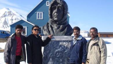 Photo of Prominent Goans – Dr Savita Kerkar and her tryst with an Arctic Expedition
