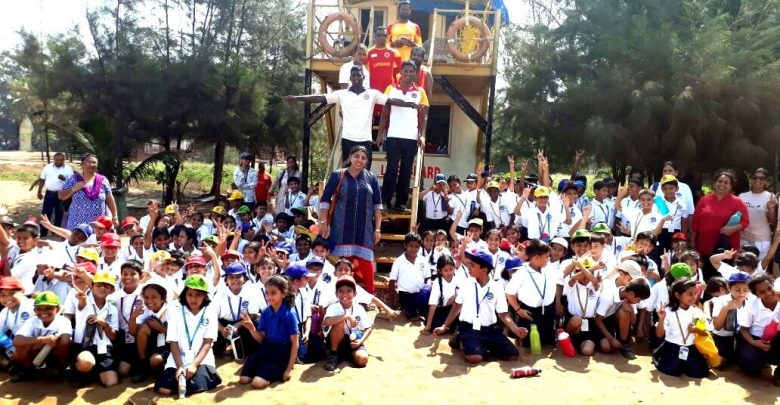 Drishti conducts beach safety session