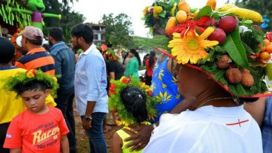 Photo of The crowning glory that is the Kopel or flower crown at São João