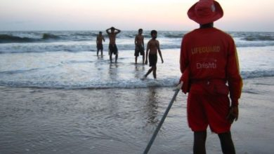 Photo of Drishti lifeguards rescue fishermen in two separate incidents