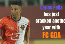 Photo of Carlos Peña has just cracked another year with FC Goa