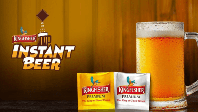Photo of Kingfisher just pulled off the most epic April fool prank – instant beer!