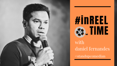 Photo of In Reel Time – featuring Daniel Fernandes, stand up comedian
