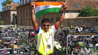 Photo of Venuvardhan Pasula, the first Goan randonneur to conquer the PBP 1200