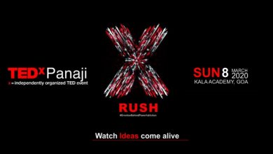 Photo of Feel the RUSH at TEDxPanaji 2020. Here are the speakers