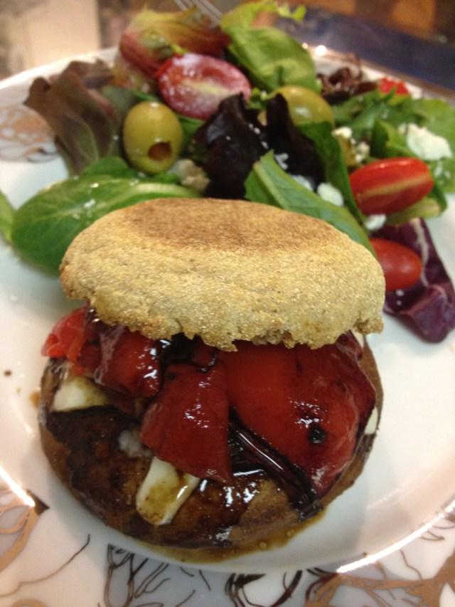 Portobello Burger w Balsamic Glaze  Its Good to be the Cook