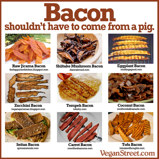 How To Get Your Bacon Fix Without Harming The Piggies (3/3)