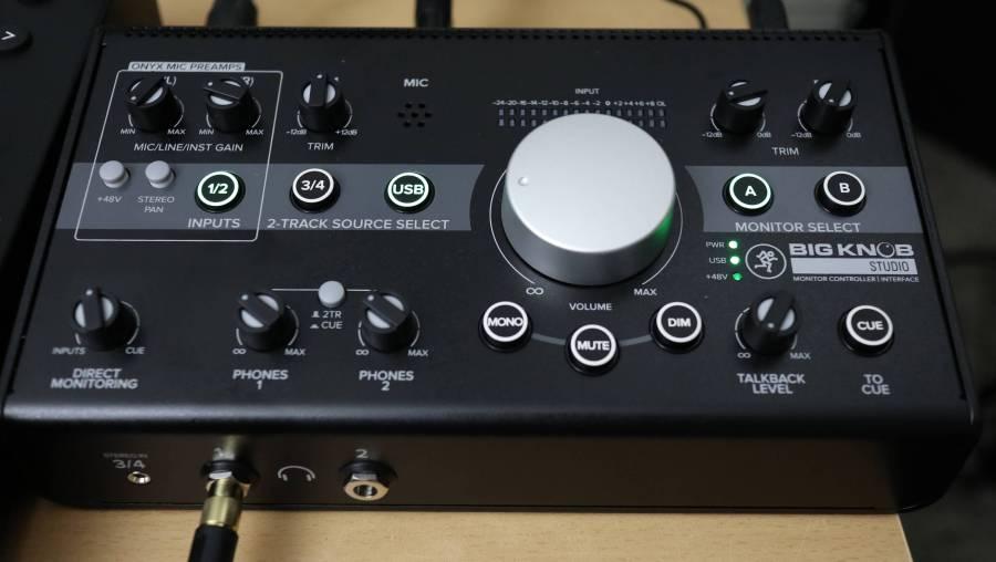 Mackie Big Knob Studio Audio Interface