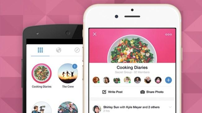 Facebook prezanton aplikacionin e pavarur Groups