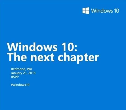 Microsoft do mbaj një eveniment në Janar përpara lansimit të Windows 101