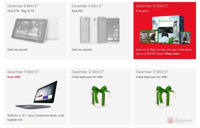 Microsoft ofron 12 ditë zbritje të produkteve  për festat e fundivitit