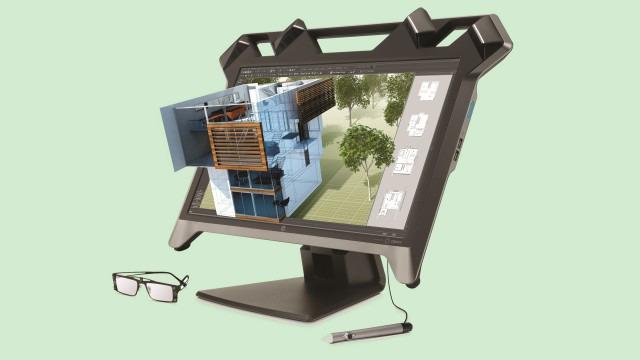 Ekran nga HP që shfaqin realitetin virtualisht ju lejojn të manipuloni me imazhe 3D1