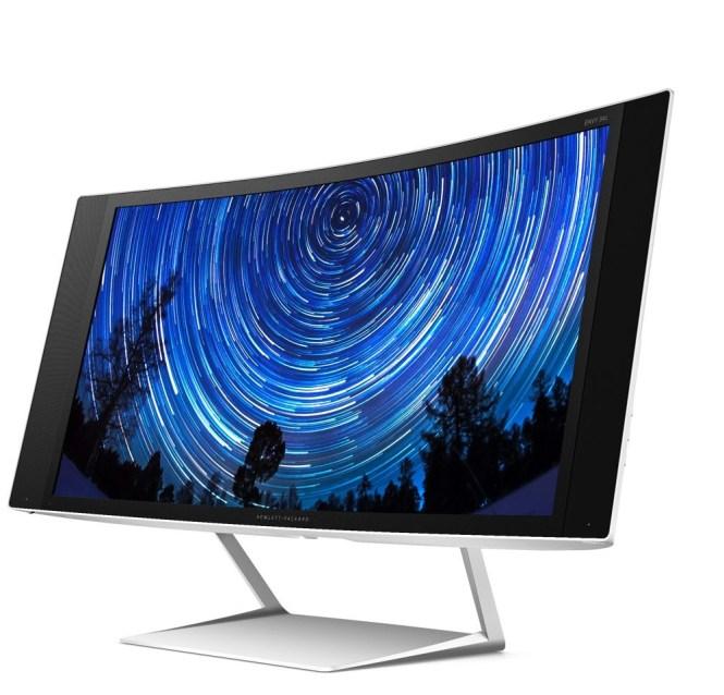 HP prezanton monitora të lakuar me kualitet 5K
