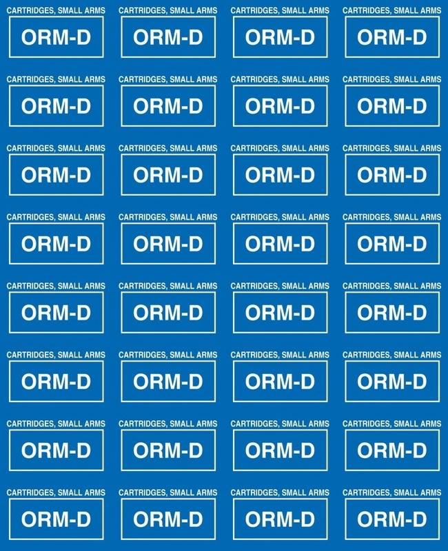 Ups Orm D Labels Printable / Small arms cartridges labels