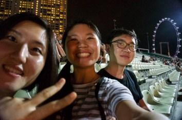 Half of Helen, me and Chris!