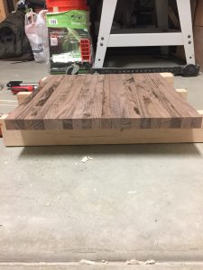 Strips aligned for panel glue-up via It's Jou Life blog https://wp.me/p7RBMP-Vs