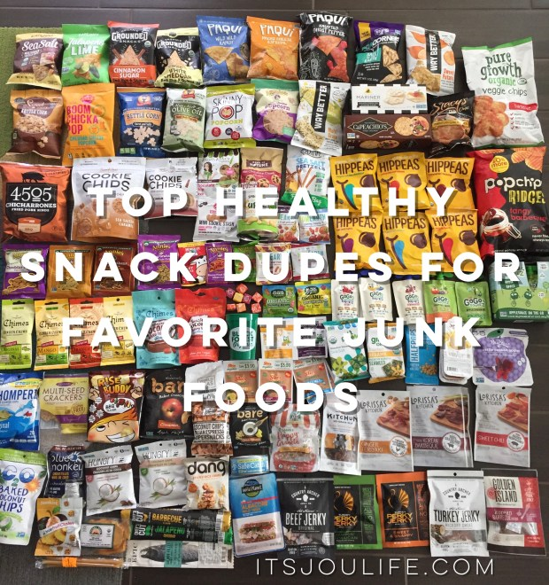 Top 10 healthy snack dupes to your favorite junk foods - https://wp.me/p7RBMP-YI