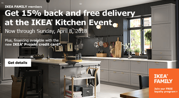 IKEA Kitchen Sale 15% off - https://wp.me/p7RBMP-17Y