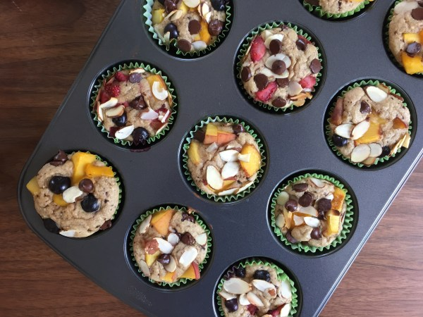 Healthy Blender Muffins Recipe - It's Jou Life blog https://wp.me/p7RBMP-15R