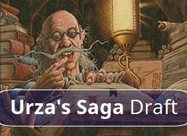 8-4 Urza's Saga Draft #3
