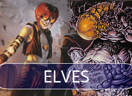 Elves vs Grixis Delver #1 (R2 of Daily Event)