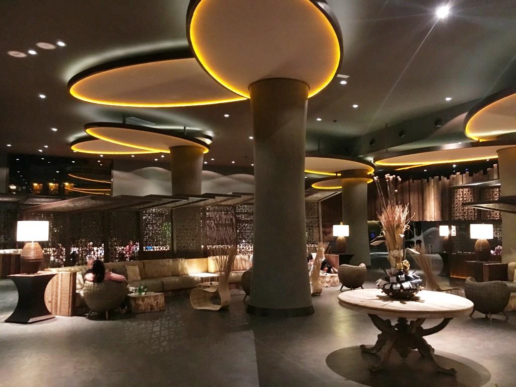 Reception lobby at Lopesan Baobab