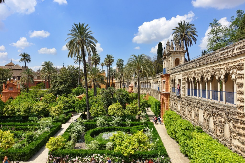 Gardens of Real Alcazar Seville, used as a set for Game of Thrones