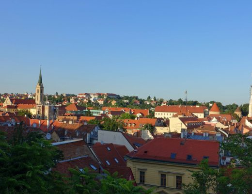 Panoramic views of Zagreb
