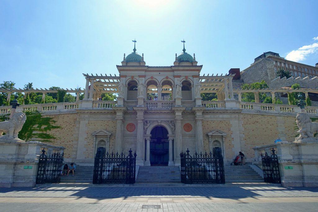 Castle Garden Bazaar entrance, Budapest