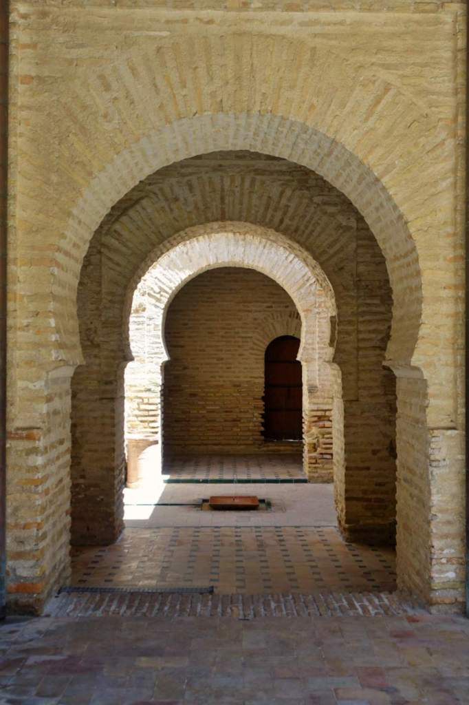 Doorway in Alcazar de Jerez